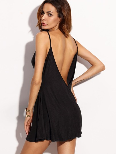 Open Low Back Cami Dress