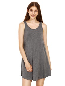 Grey Swing Tank Dress