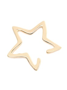 Gold Cutout Star Ear Cuff 1 PC