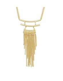 Long Chain Tassel Pendant Necklace