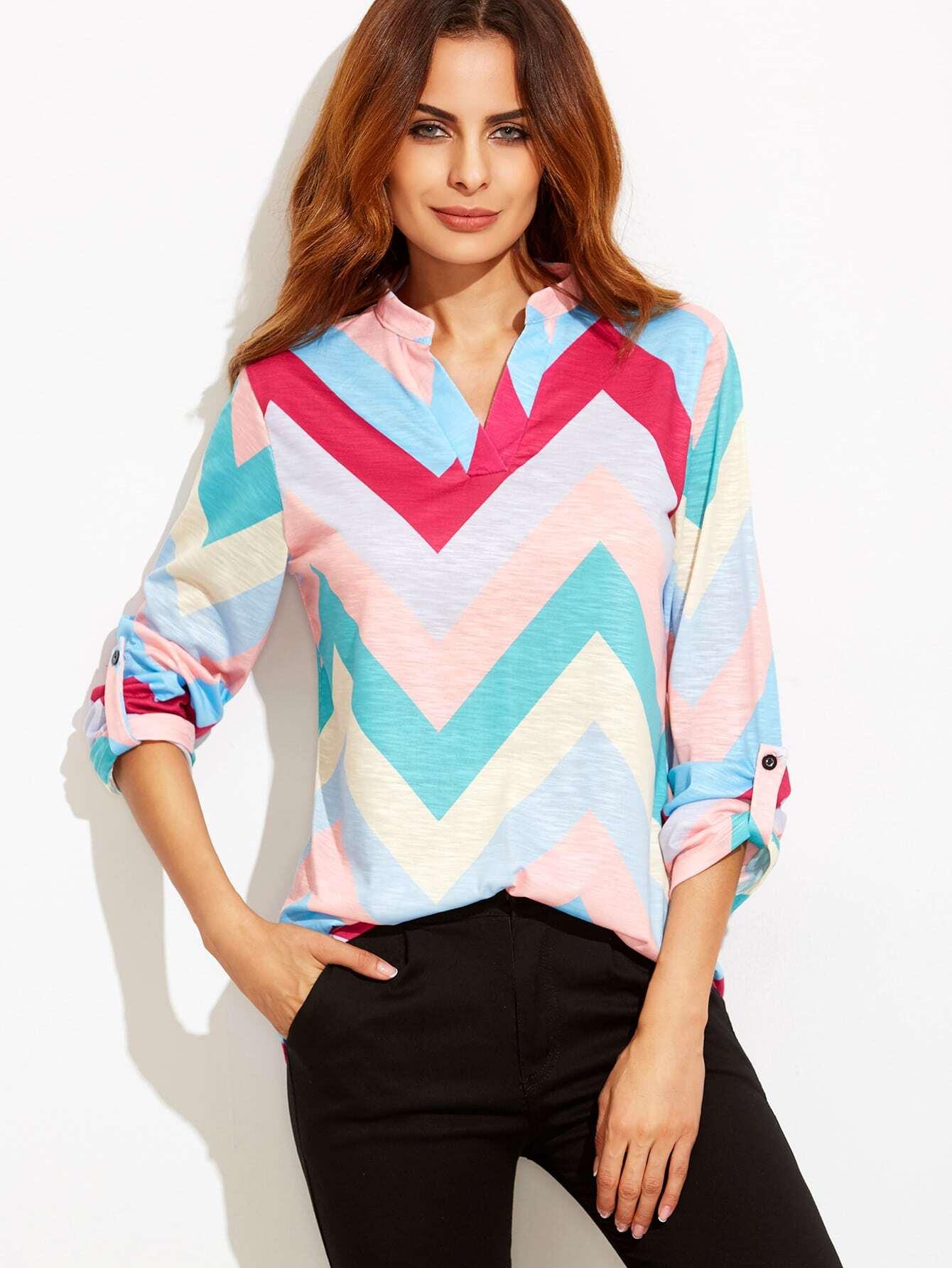 Разноцветные Блузки