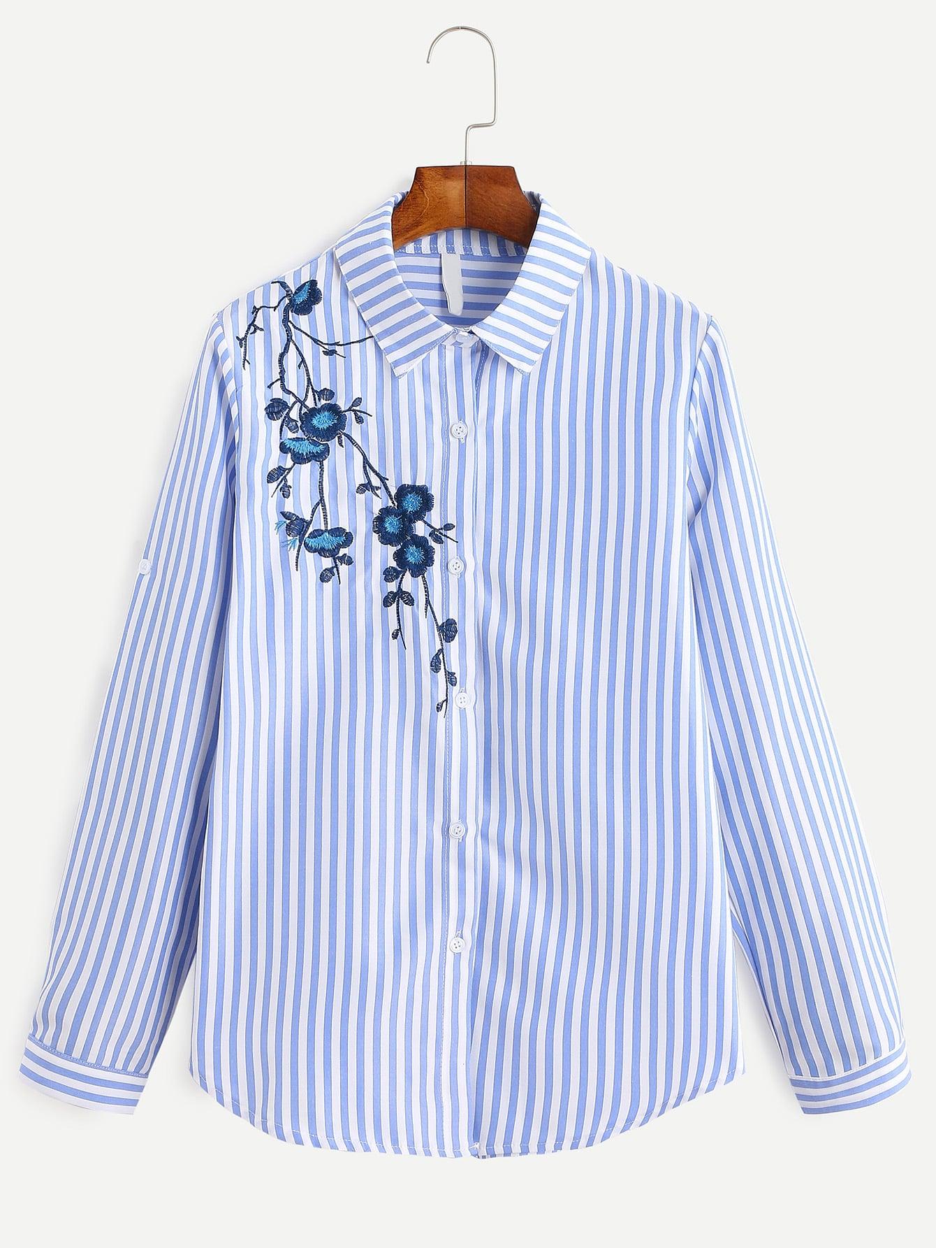 Вышивка на рубашке 34