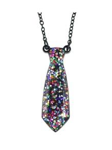Colorful Acrylic Bottle Pendant Necklace