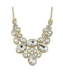 Gemstone Chunky Bridal Necklace