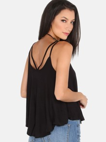 Double Strap Flow Cami Top