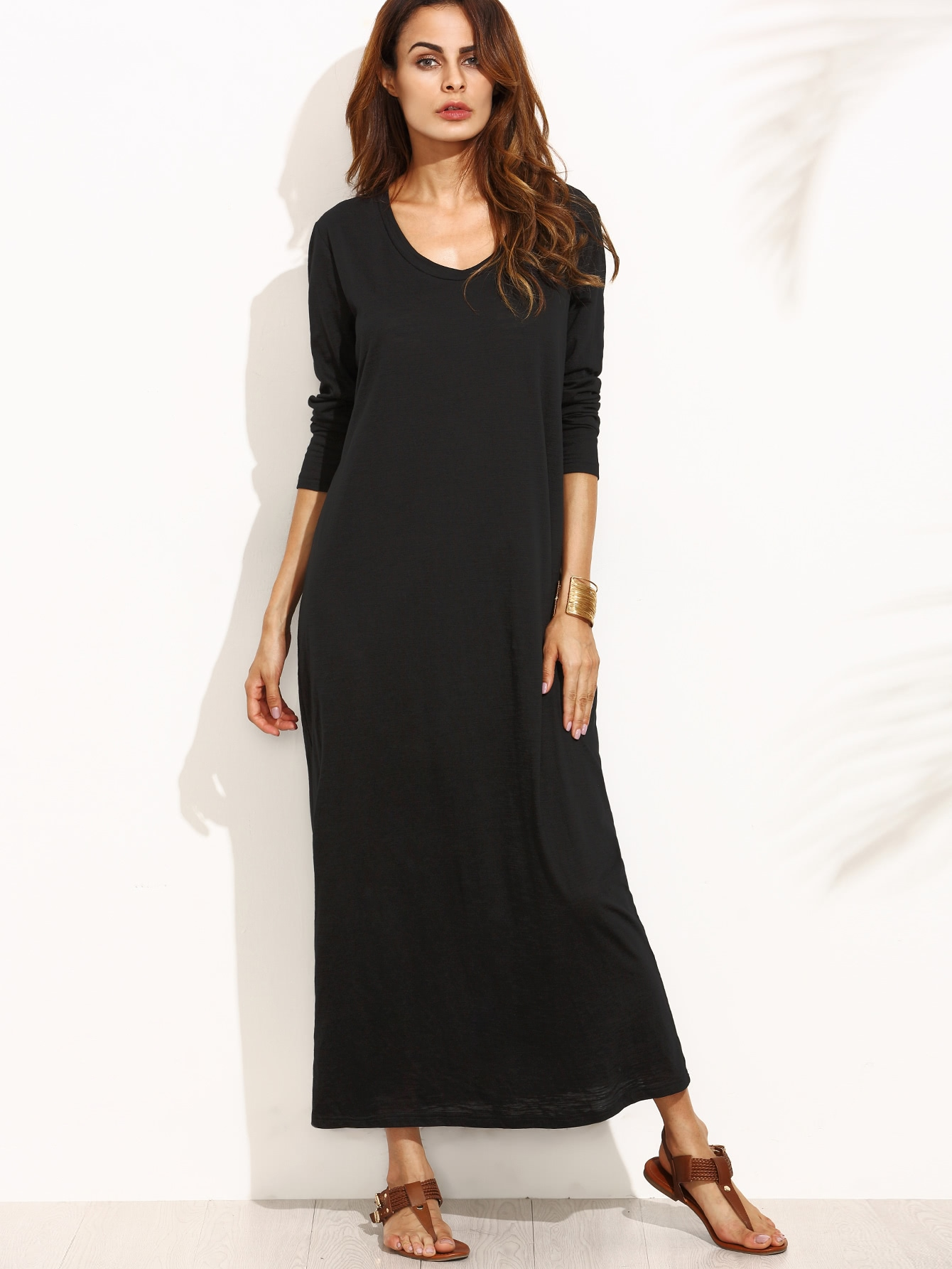Full Length Tee Dress pocket full length tee dress page 10