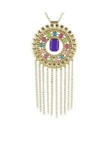 Multilayers Statement Beads Necklace
