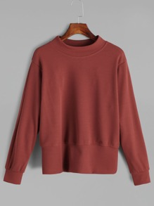 Rust Long Sleeve Sweatshirt
