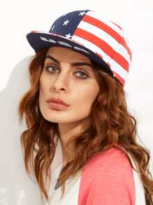 USA Flag Hip Hop Baseball Cap