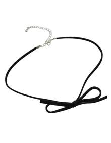 Pu Leather Choker Collar Necklace