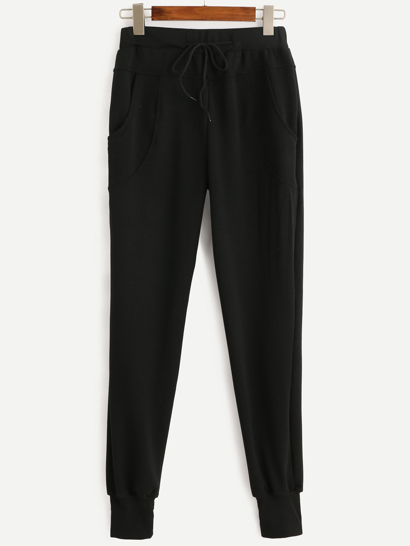 Купить со скидкой Drawstring Waist Pants