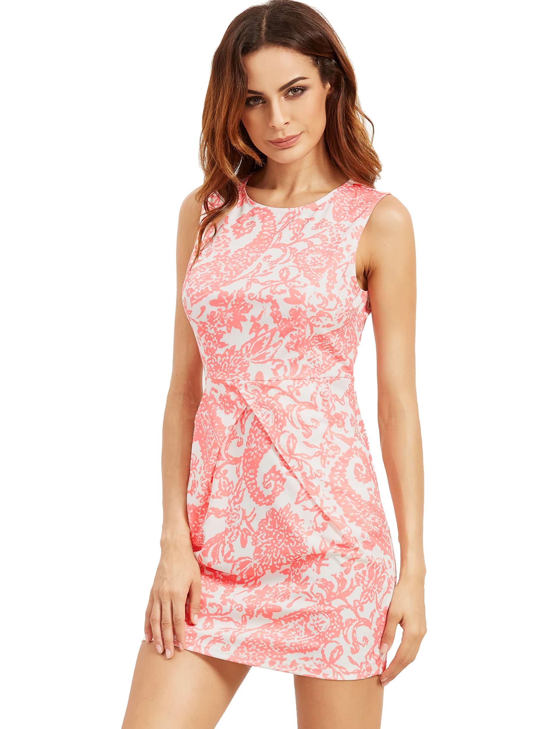 Фото Aztec Print Bodycon Tank Dress. Купить с доставкой