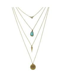 Turquoise Long Pendant Necklace