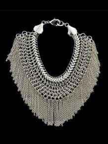 Statement Chain Tassel Bracelet For Women
