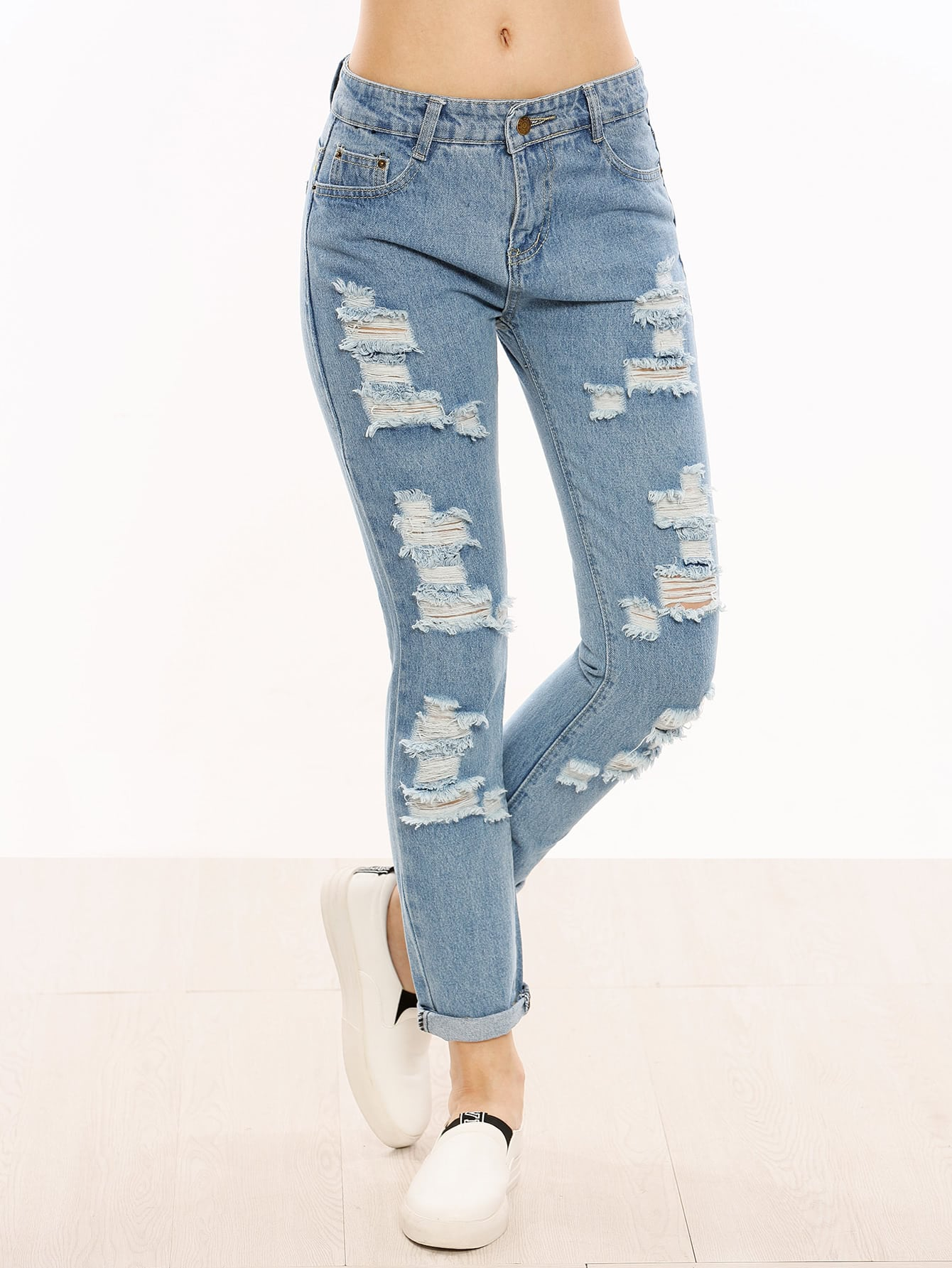 Фото синие джинсы доставка