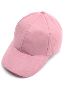 قبعة بيسبول سويدي وردية