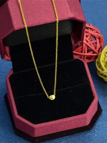 Gold Hot Sale Short Geometric Pendant Necklace For Women