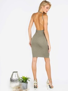 Backless Bodycon Sexy Dress