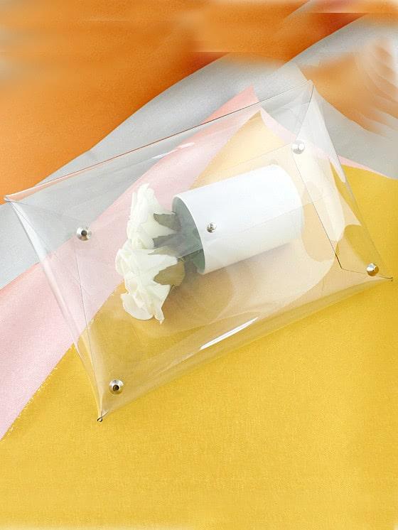 Купить Transparent Envelope Clutch Bag