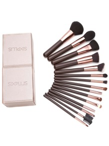 Coffee Professional Makeup Brush Set With Box