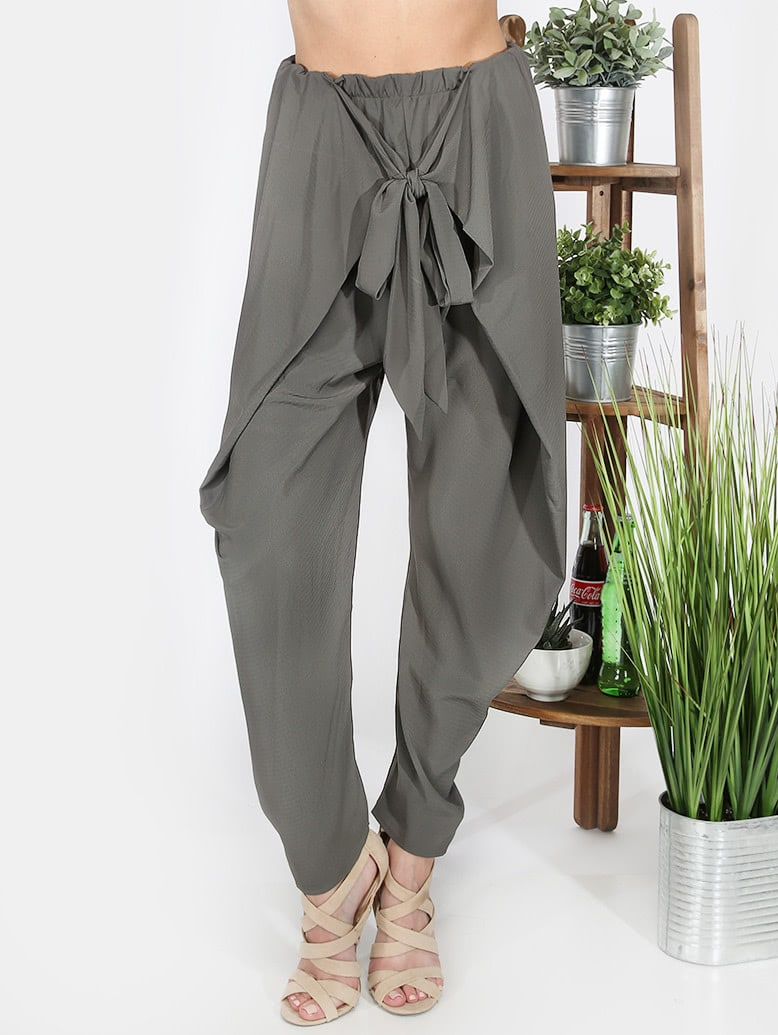 Фото Bow Decorated Pants. Купить с доставкой
