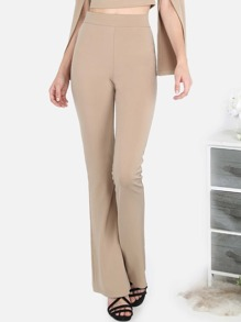 Tailored Flared Pants KHAKI