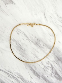 Gold Chain Choker GOLD