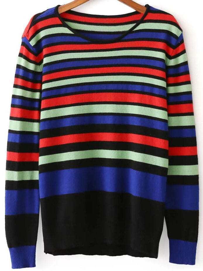 Цветной Пуловер Доставка