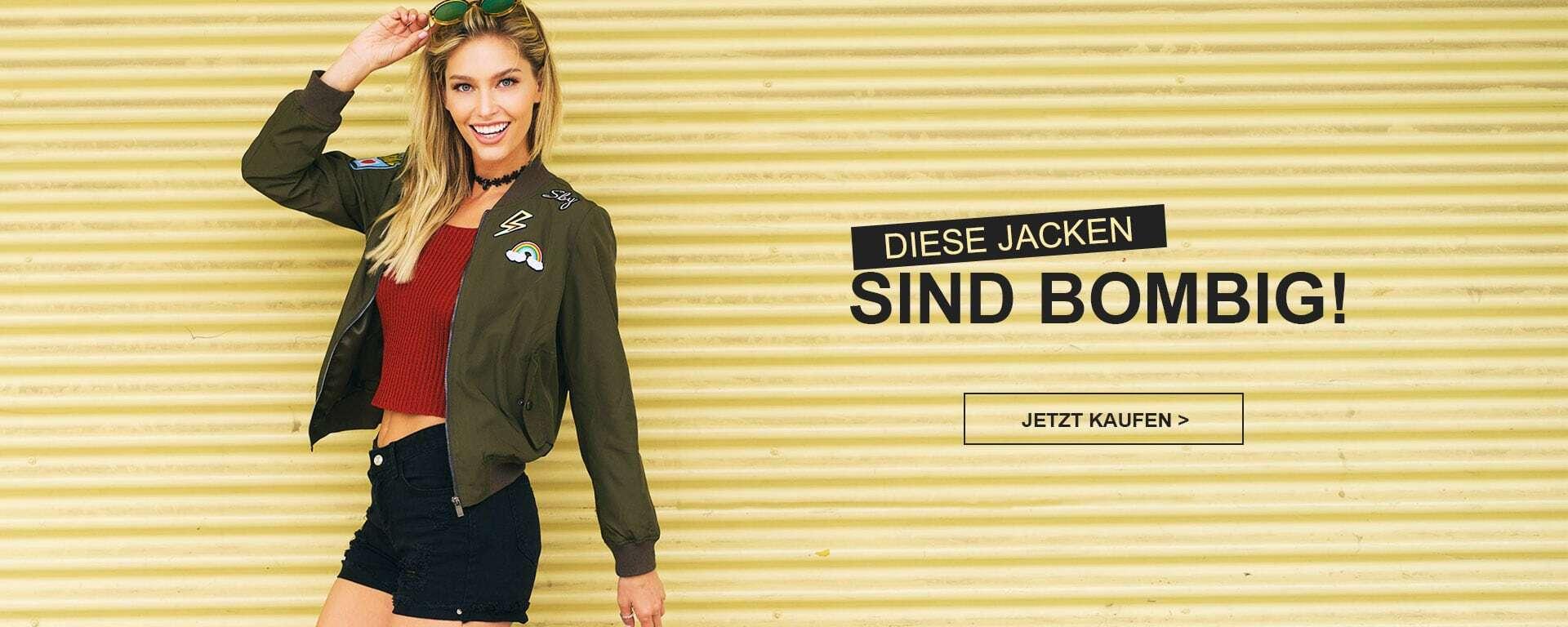Diese Jacken sind Bombig!