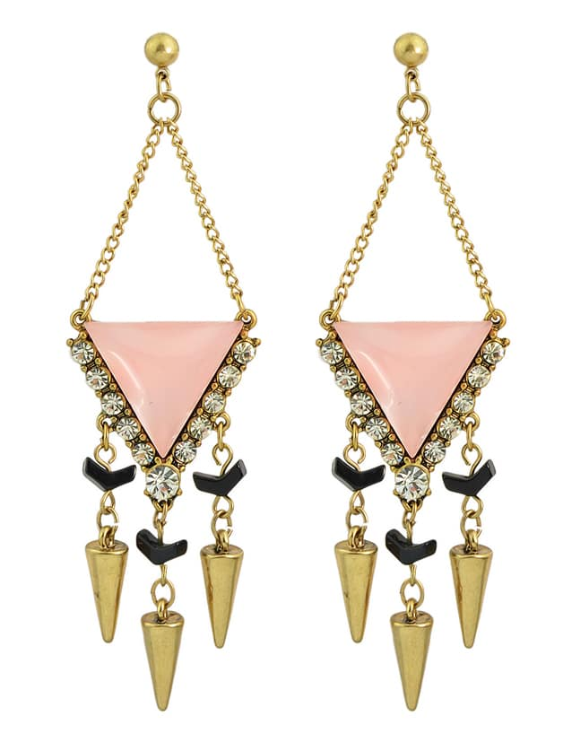 Latest Rhinestone Long Dangle Chandelier EarringsLatest Rhinestone Long Dangle Chandelier Earrings<br><br>color: Pink<br>size: None