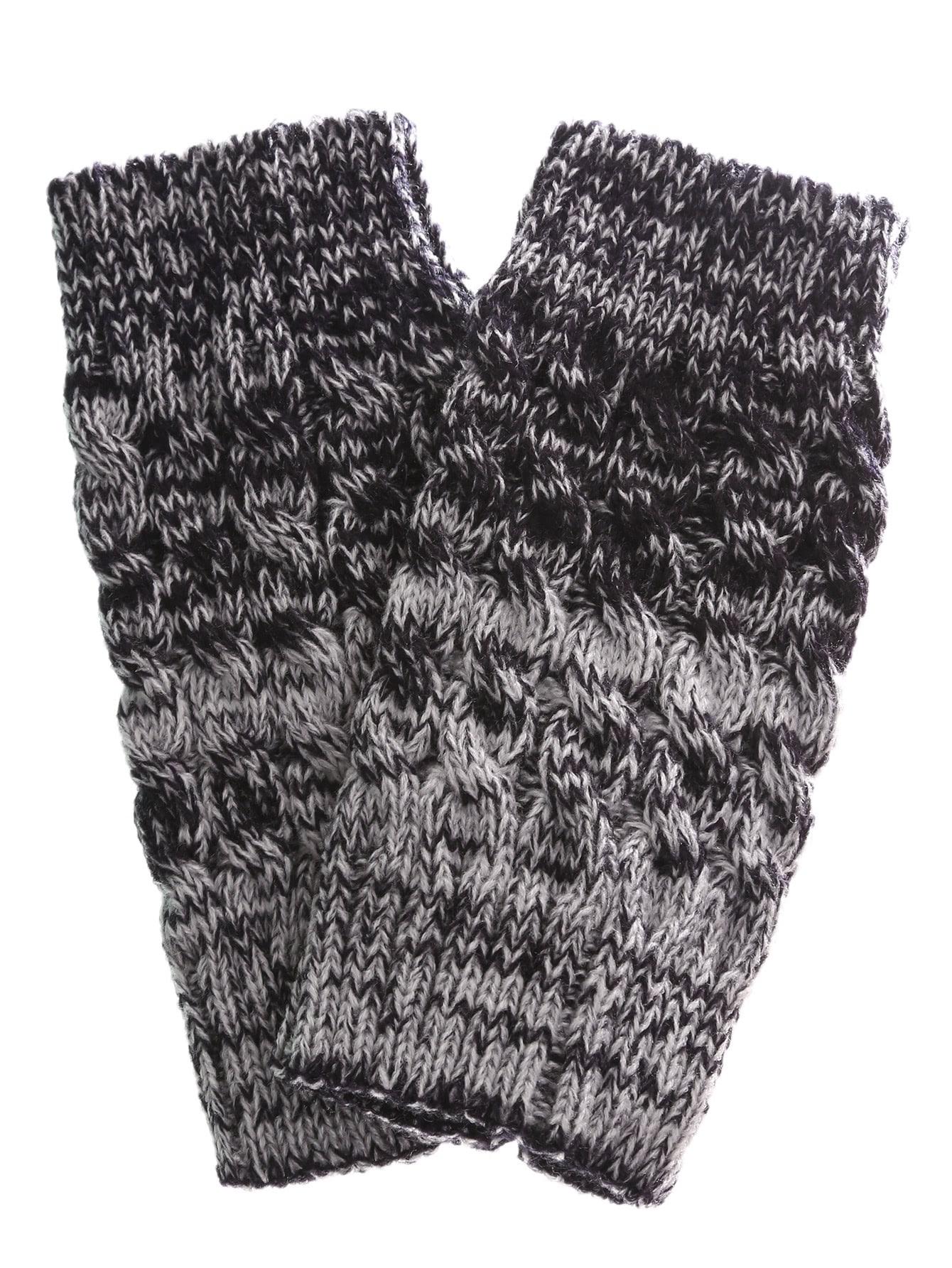 Фото Cable Knit Short Leg Warmers. Купить с доставкой