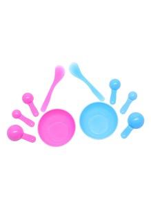 Random Color Facial Mask Bowl Brush Spoon Tools Set