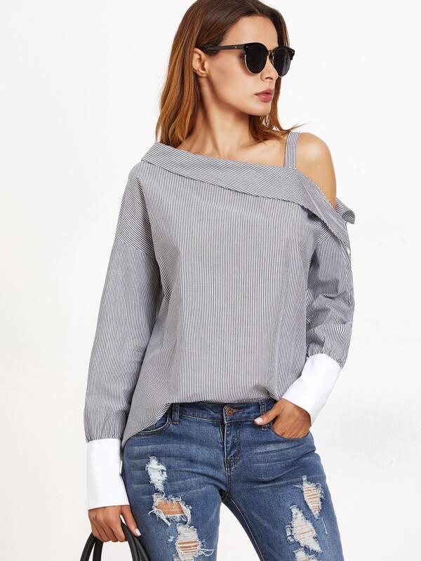Сексуальные блузки с открытым плечом