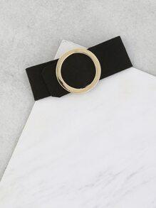 Metallic Hoop Bracelet GOLD