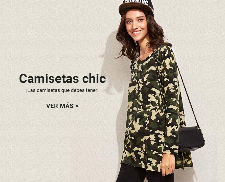 CAMISETAS CHIC