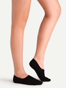 Chaussettes plain simple - noir