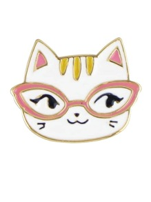 Cat Latest Cute Colorful Enamel Cat Shape Brooch