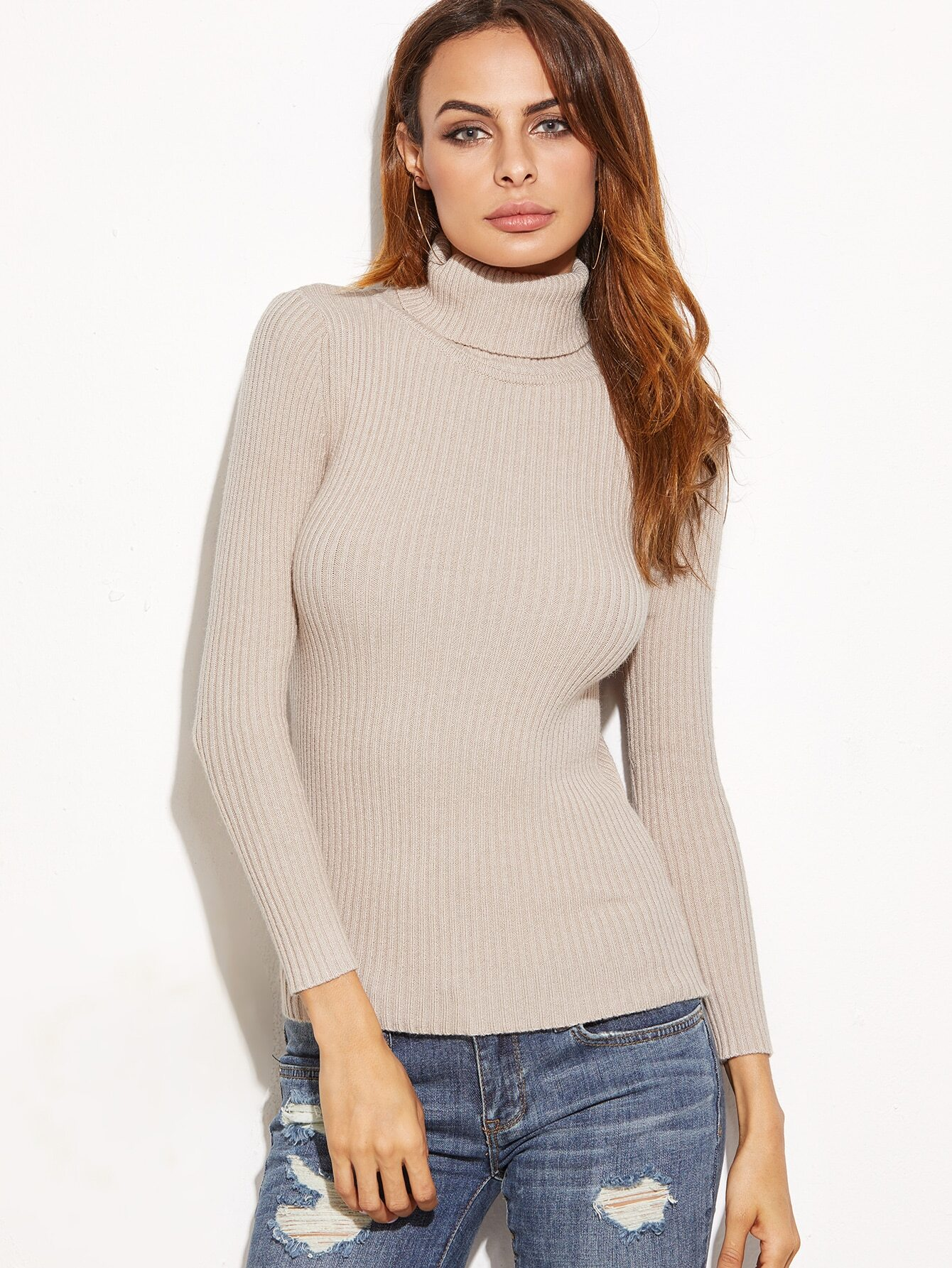Rib-Knit Wool-Blend Turtleneck Sweater. $ The Row Marton Cable-Knit Cashmere Sweater. $1, JoosTricot Compact Knit Cotton-Blend Turtleneck Sweater. $ Sies Marjan Courtney Metallic Crewneck Sweater. $ The Row Aetra Cashmere-Blend V-Neck Sweater. $ JoosTricot.
