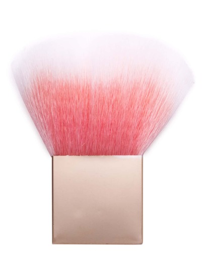 Pink And Gold Square Cosmetic Makeup Foundation Brush