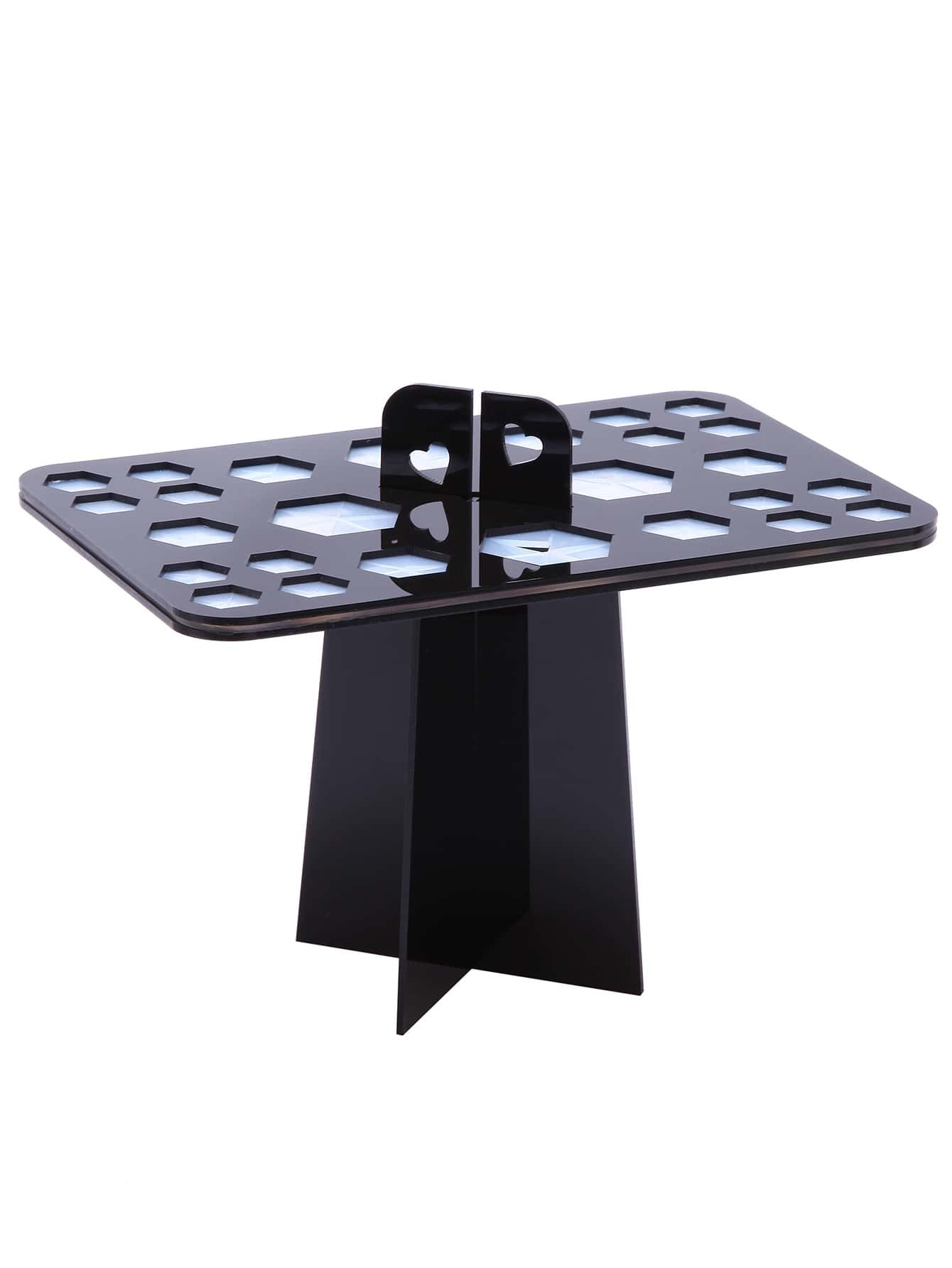 Фото Black 26 Hole Makeup Brush Dryer Holder. Купить с доставкой