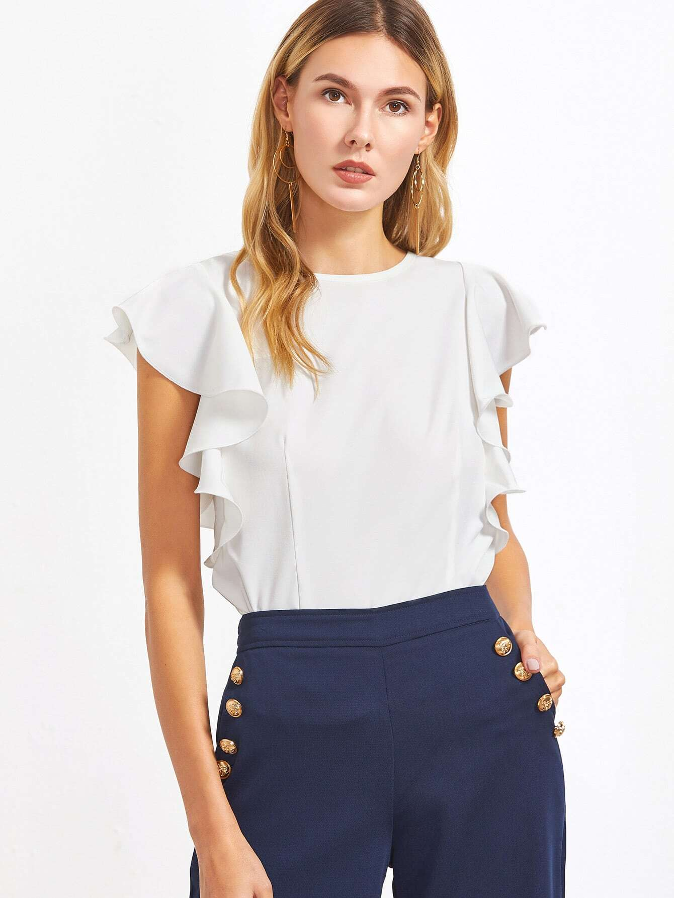 http://www.shein.com/White-Ruffle-Sleeve-Top-p-333031-cat-1733.html?aff_id=8630