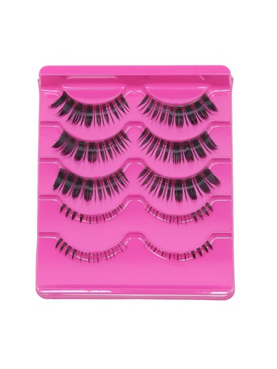 Black Natural Soft Curly False Eyelashes