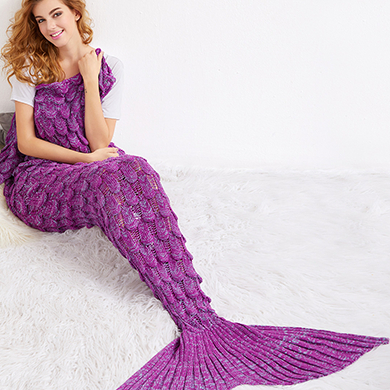 Mermaid Blankets & Pillows