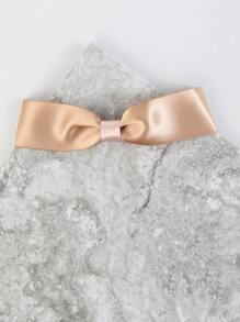 Satin Ribbon Choker Necklace KHAKI
