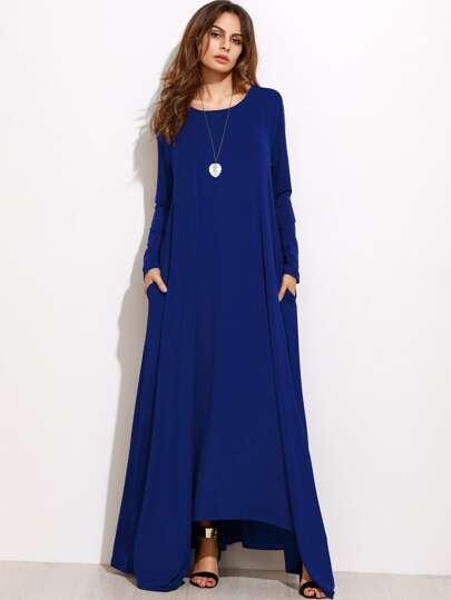 Robe longue large