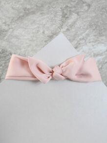 Tie Around Choker Necklace PINK