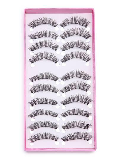 False Long Eyelash Set 10PCS