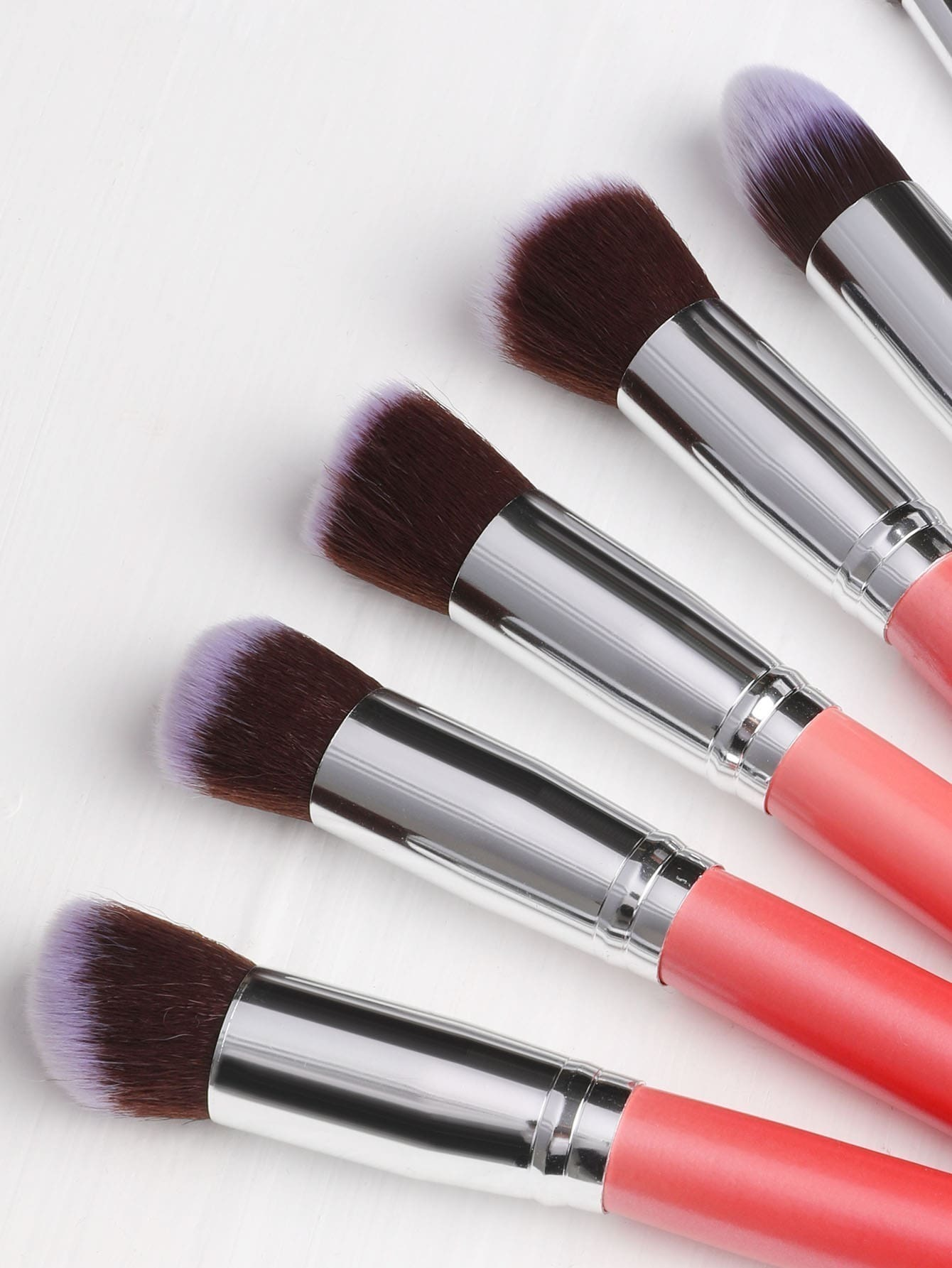 Pinceau de maquillage m tallique 10pcs french shein sheinside - Porte pinceau maquillage ...