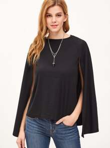 Round Neck Cape T-shirt