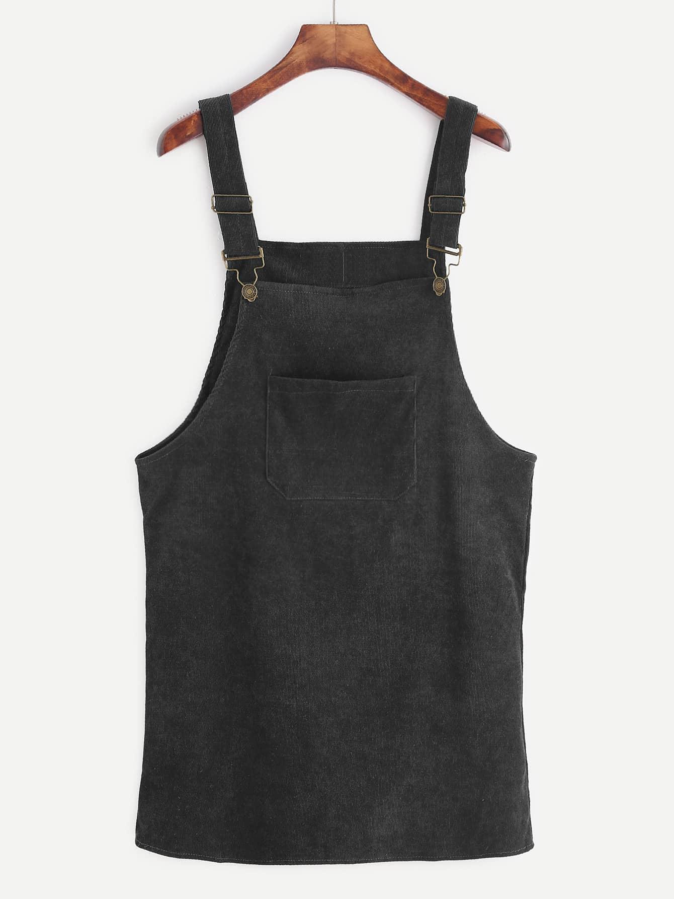 Corduroy Overall Dress corduroy babydoll smock dress